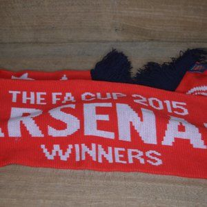 Arsenal 2015 FA Cup Champions Red Licensed Scarf